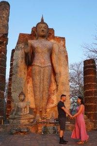 Sukhothai Wat Saphan Hin