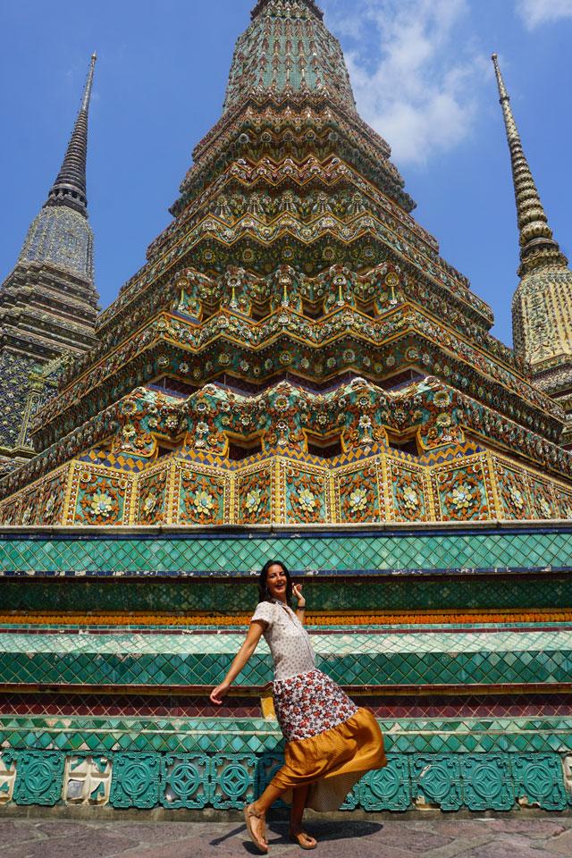Wat Pho Temple Bangkok