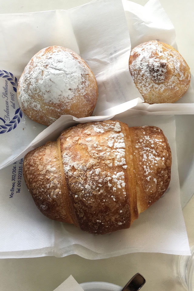 Catania dove fare colazione