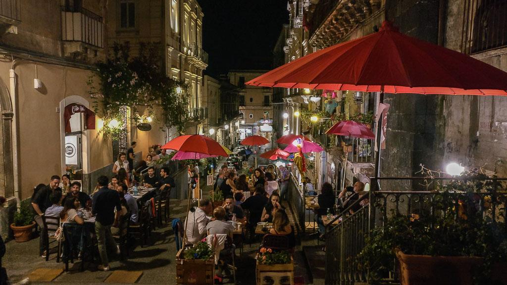 Catania vita notturna
