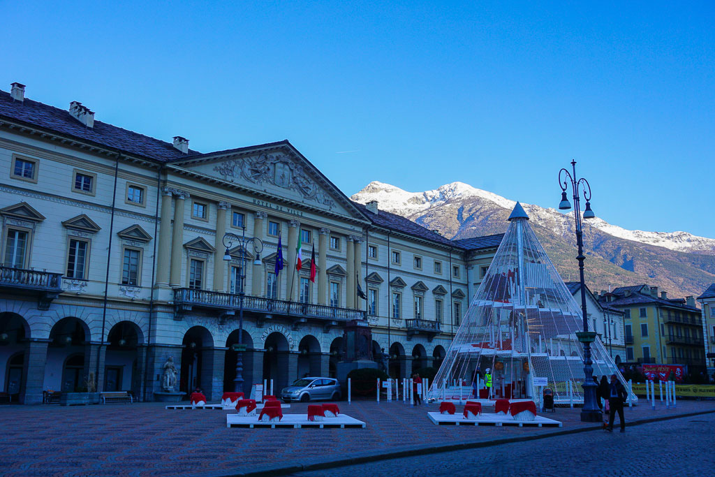 Aosta centro storico