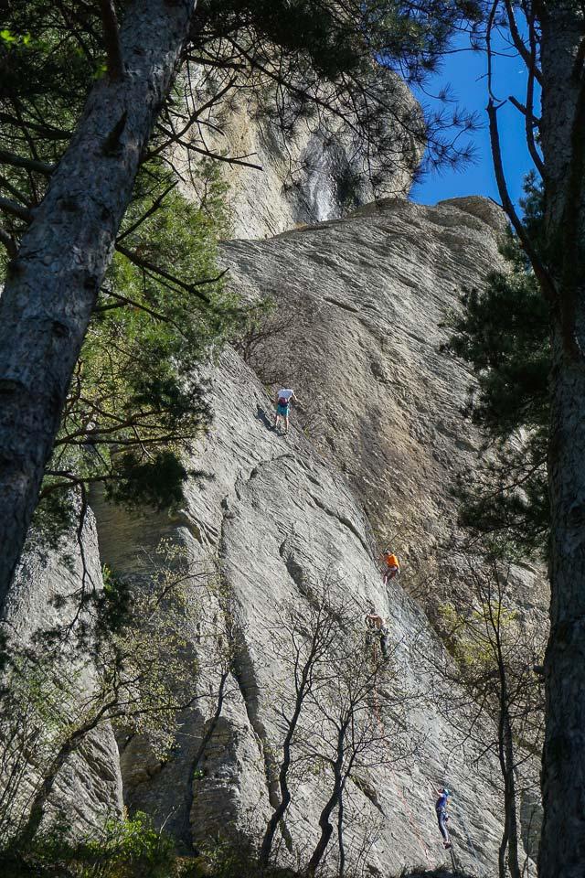 Pietra di Bismantova alpinismo