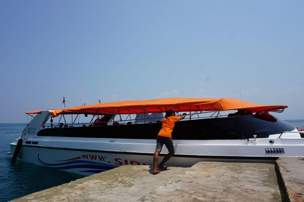 Koh Kradan speedboat