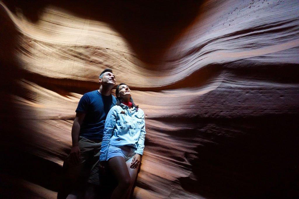 visitare antelope canyon