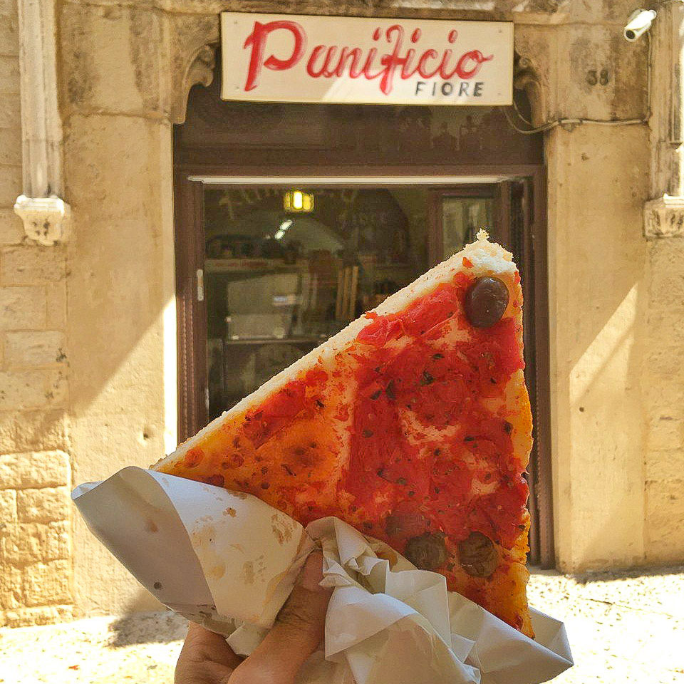 dove mangiare la focaccia barese a Bari