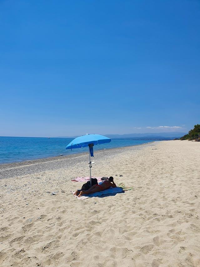 spiaggia roccella ionica calabria