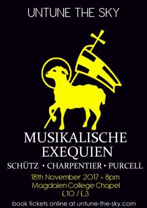 Schutz Musikalische Exequien Poster