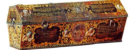 Coffin of Prince Heinrich II Posthumus von Reuss