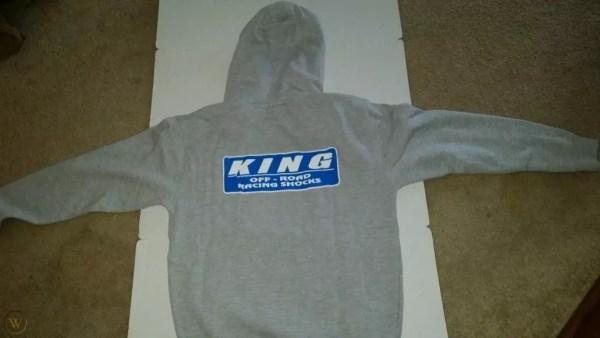 hoodie king shock tampak belakang