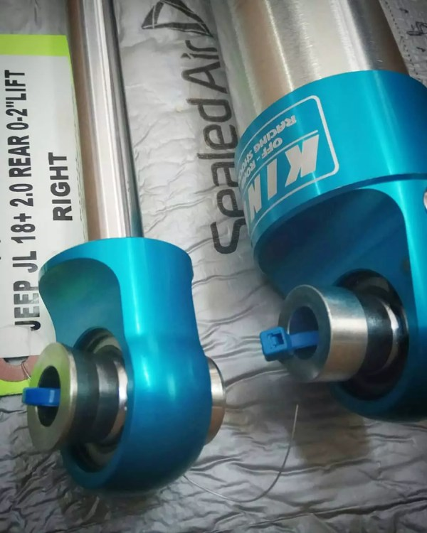 detail shock absorber king shock