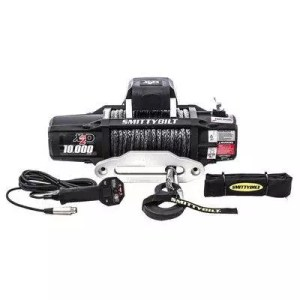 Smittybilt X2O 10K Waterproof Synthetic Rope 10000lb Wireless Winch Gen2 with Fairlead - 98510