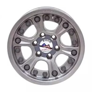 velg Rock Monster internal double beadlock warna argent