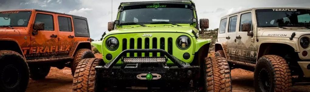 TeraFlex Produsen Peralatan Off Road Untuk Jeep
