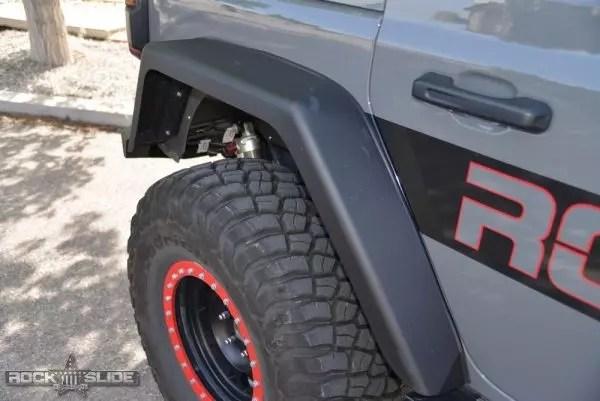 Rock Slide Engineering Front Fender Flares For Jeep Wrangler JL Full Length