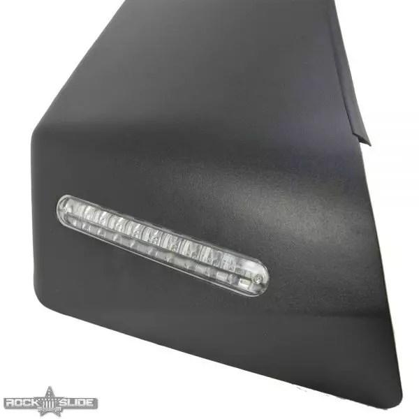 Rock Slide Engineering Front Fender Flares For Jeep Wrangler JL Full Length (w/ OEM LED)