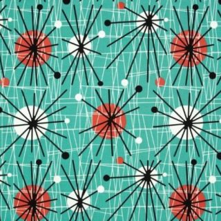 Ten Cool Retro Fabrics
