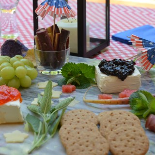 Independence Day Cheese Board