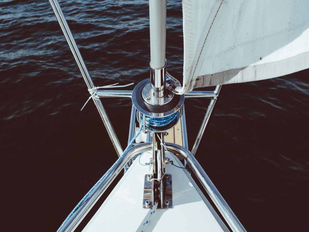 Imagen gratis de la proa de un barco en picado