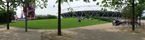 Day 6 - South Lawn in the Olympic Park