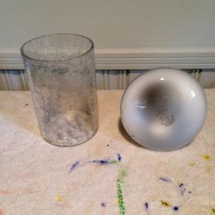 candle holder & light bulb