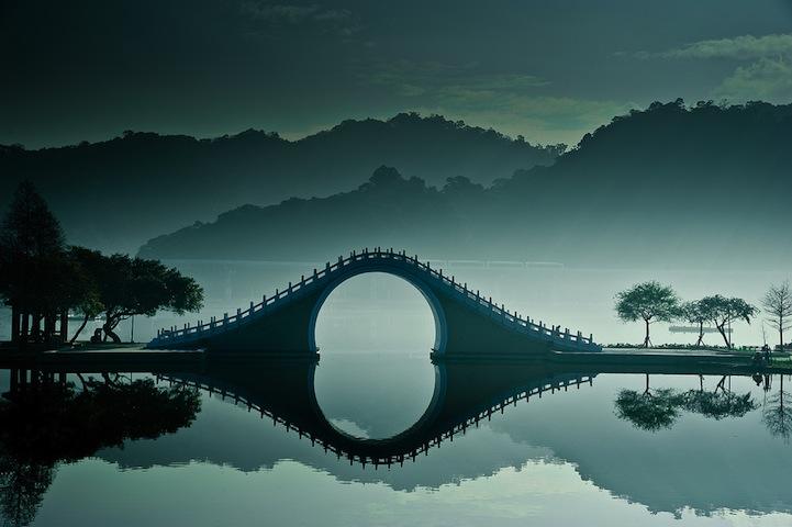 Moon Bridge In Taiwan Unusual Places