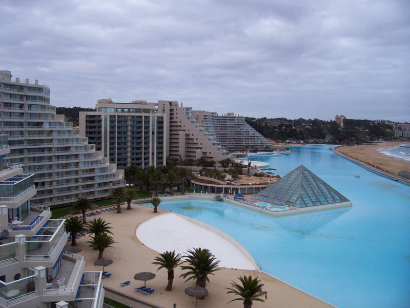 World s largest swimming pool san alfonso del mar - San alfonso del mar swimming pool ...