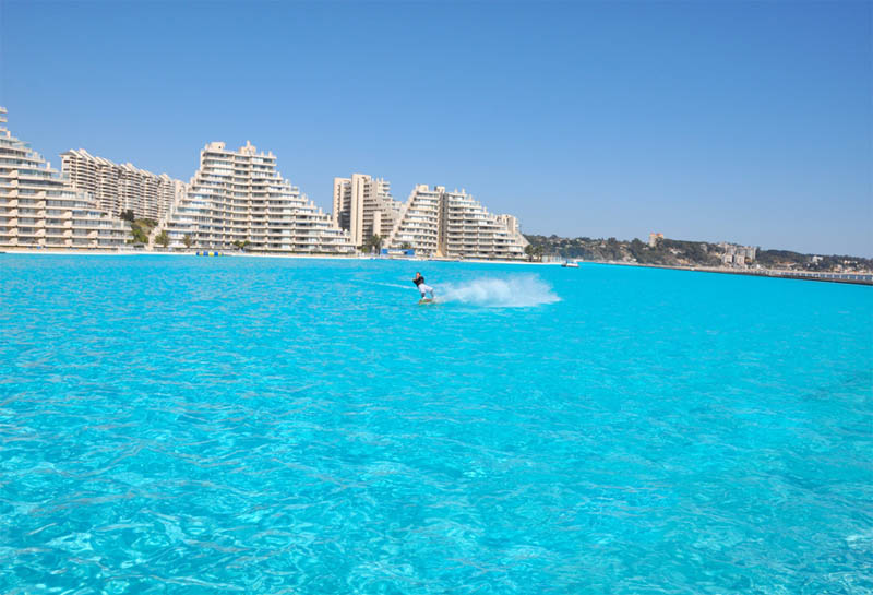 Largest Pool In Chile >> World S Largest Swimming Pool San Alfonso Del Mar Unusual Places