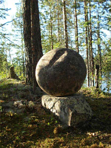 Curious round Vottovaara seita Image credit.