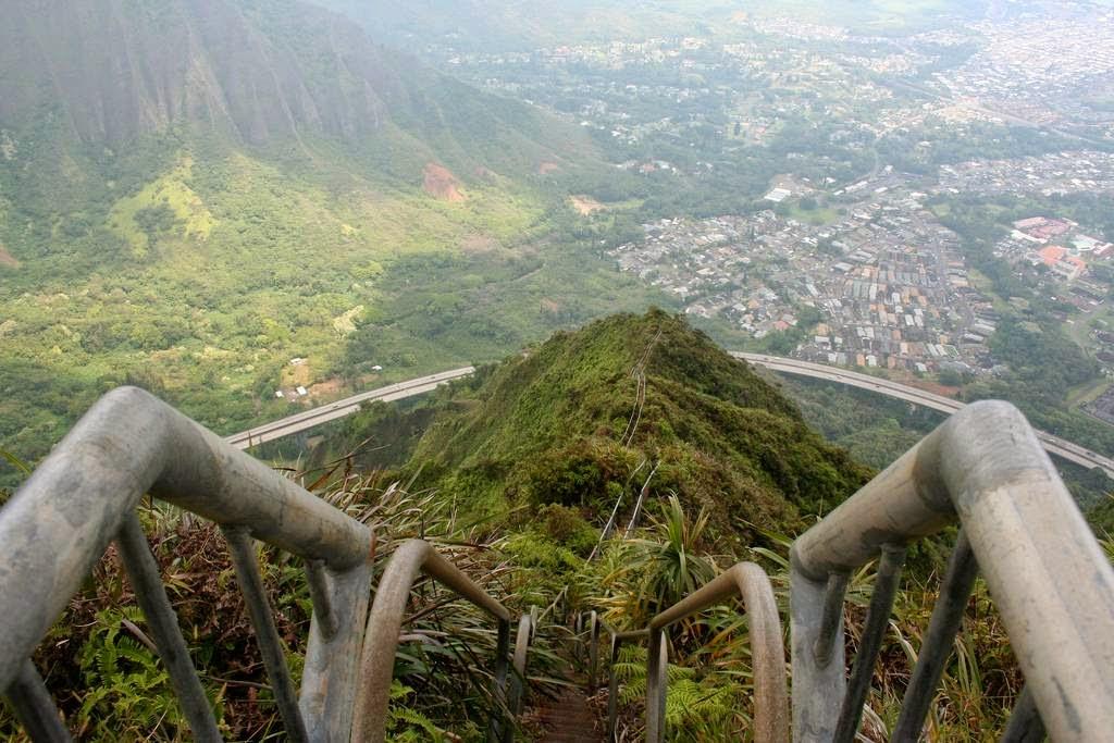 The Stairway To Heaven Haiku Stairs Unusual Places