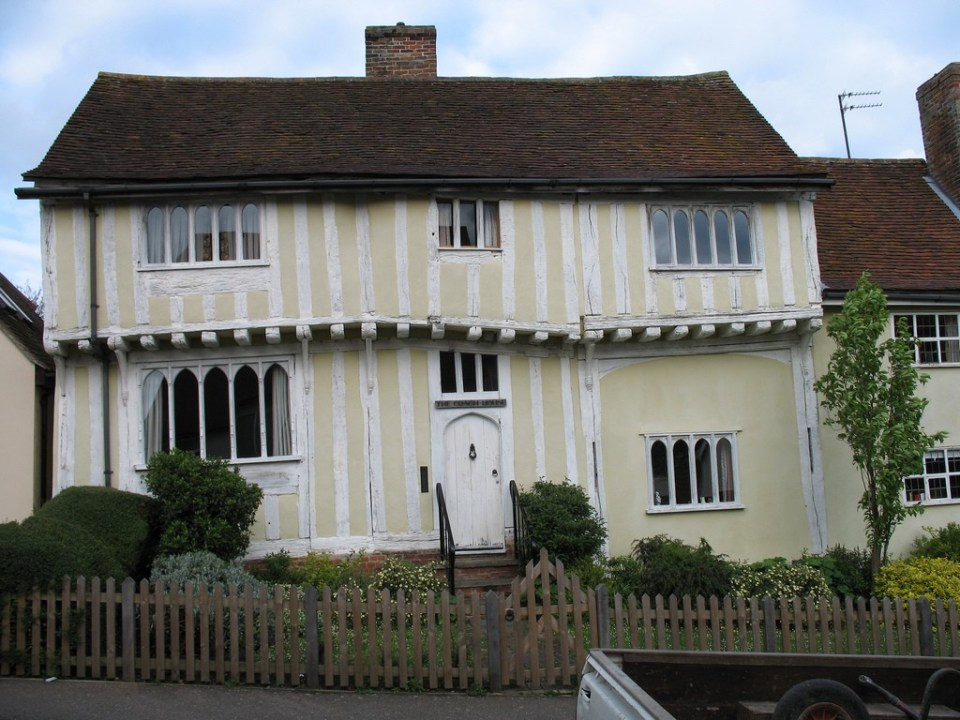 Crooked House in Lavenham England. Image by Jon/Flickr