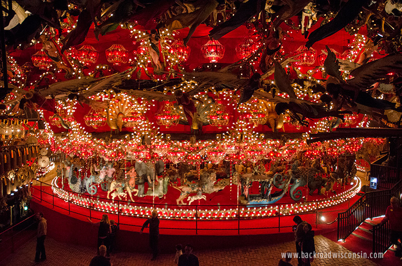 """House on the Rock Carousel is claimed to be """"the world's largest indoor carousel"""". Photo by Michael Martens"""
