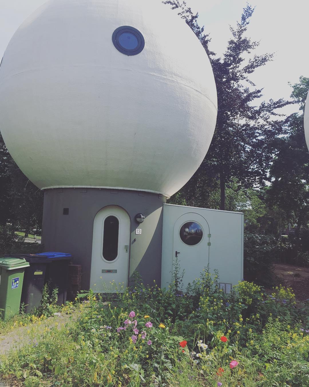 bolwoningen neighborhood of spherical homes unusual places