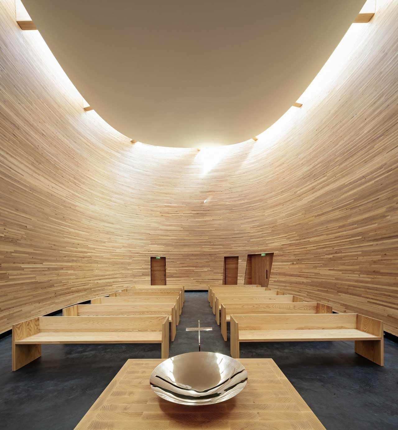 Kamppi Chapel: a Silent Break From Urban Chaos