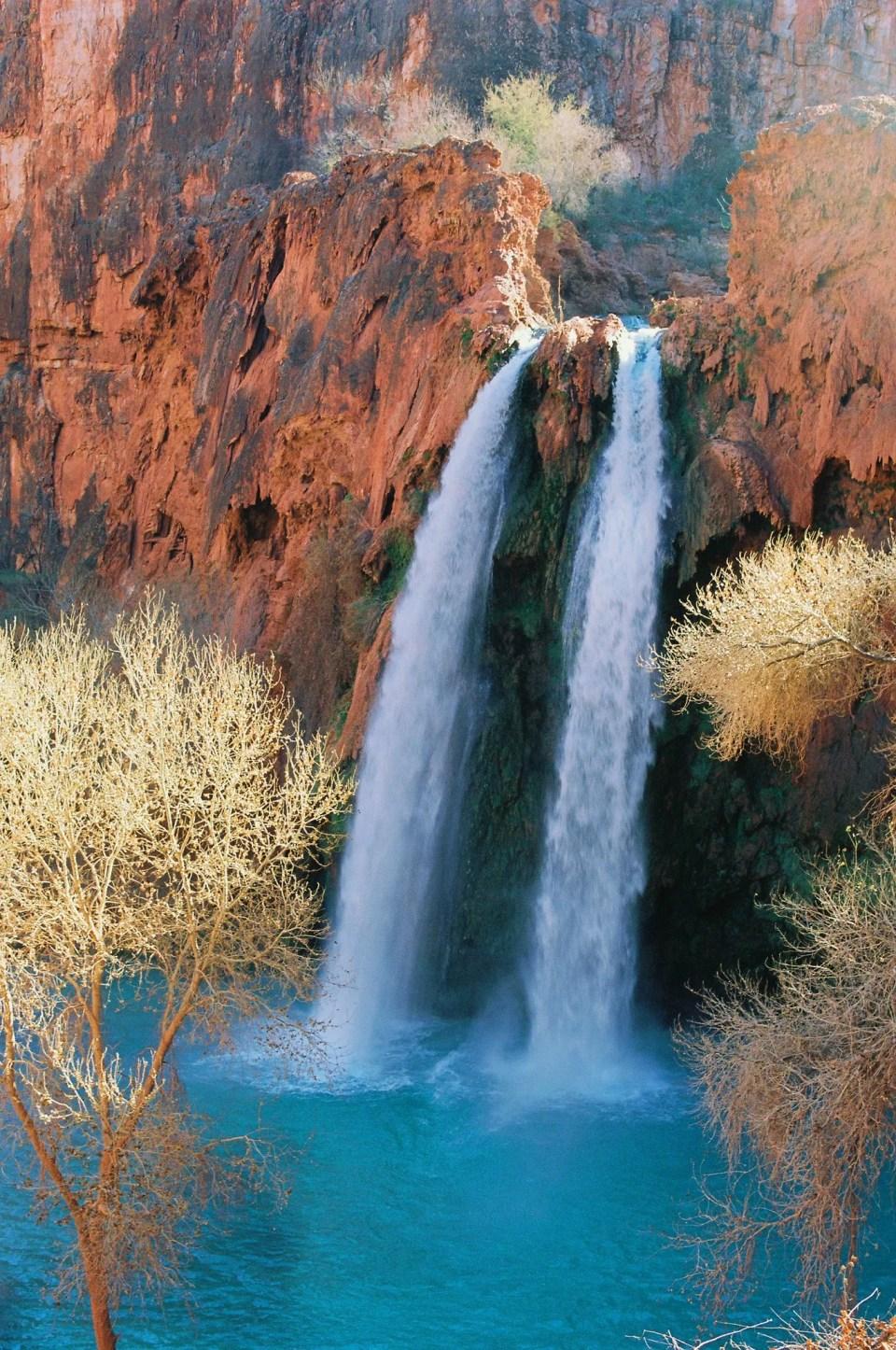 Hidden Aqua Gem Of The Grand Canyon Havasupai Falls Arizona Unusual Places