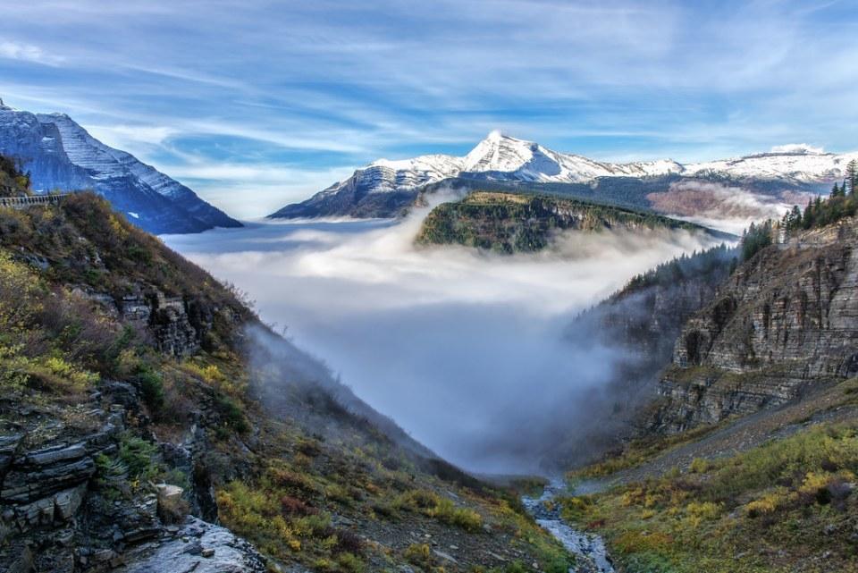 Glacier Park Valley