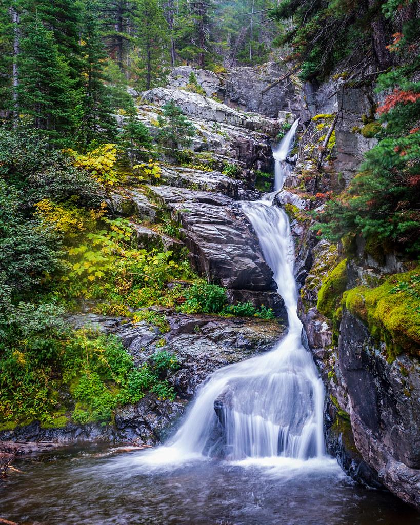 Aster Falls - Glacier National Park