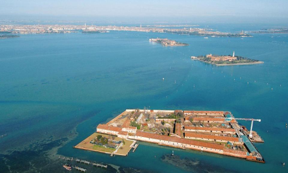 Lazzaretto Nuovo island, Venice, Italy