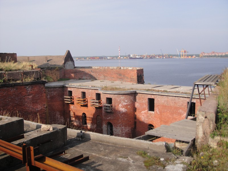 View from top of Fort Alexander