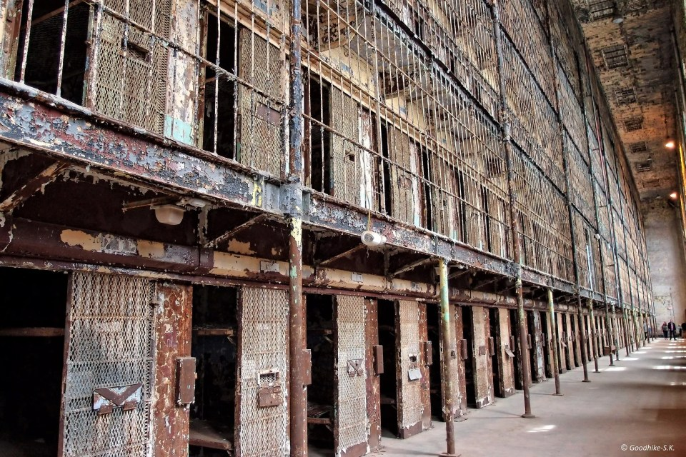 East Cell Block of the Ohio State Reformatory