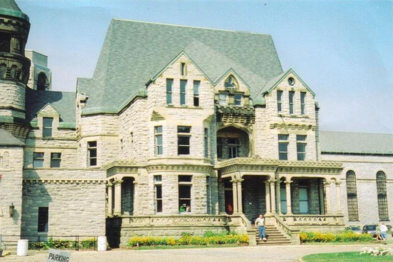 Outside of the Ohio State Reformatory