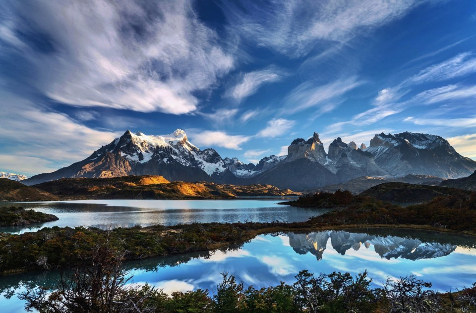 Morning phtography at Torres Del Paine, Chile