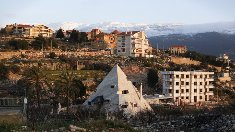 THE PYRAMID HOUSE, MIZIARA, LEBANON. PHOTO BY GAIA SQUARCI