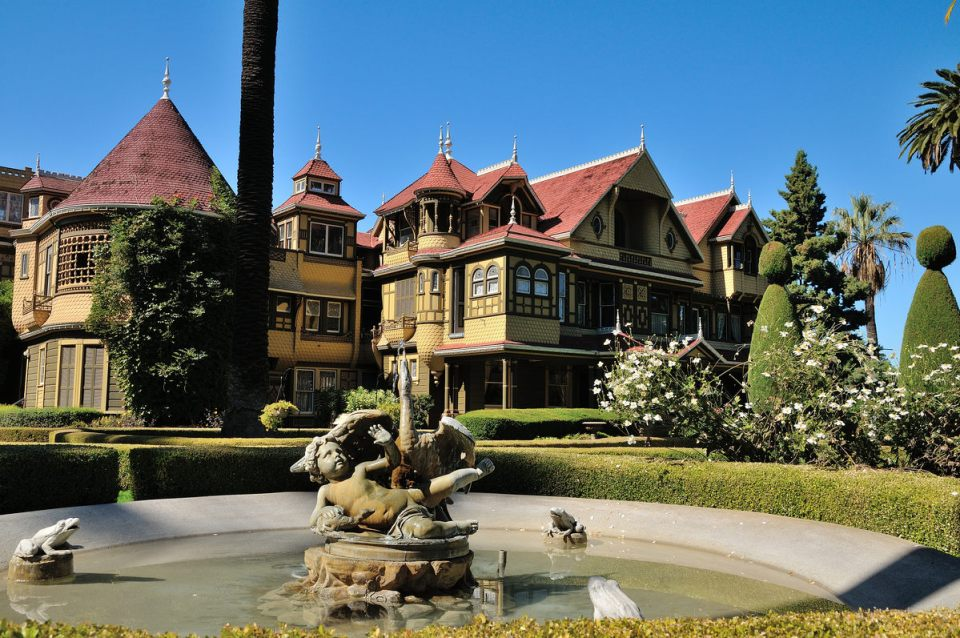 Front of Winchester Mystery House