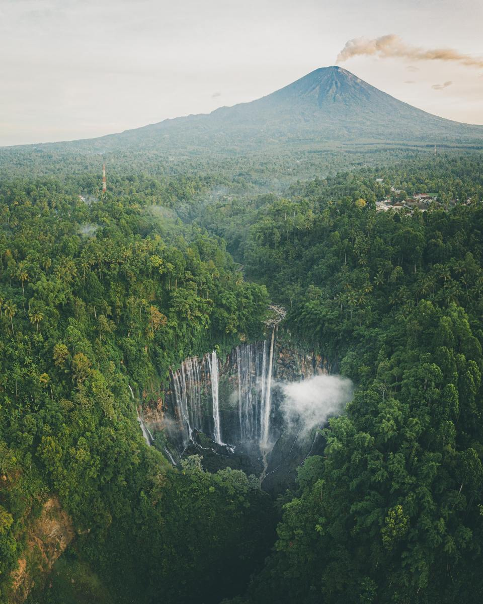 Tumpak Sewu waterfall, East Java, Indonesia