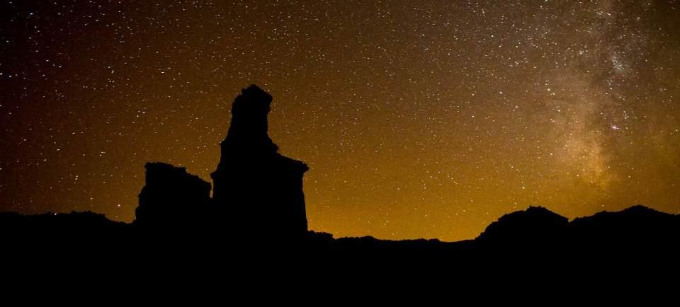Palo Duro Canyon night
