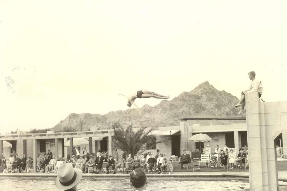 The Catalina Pool, circa the 1930s