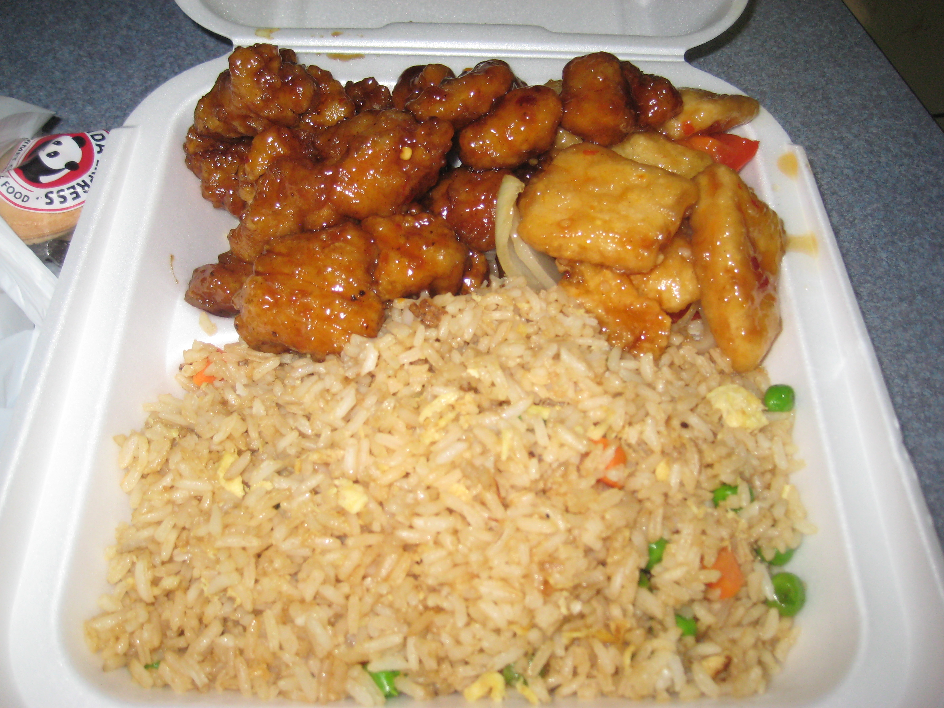 Sweet and Fiery with Panda Express – The Unvegan