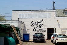 Sure I'll have some back alley bread.
