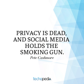 Privacy is dead, and social media holds the smoking gun.