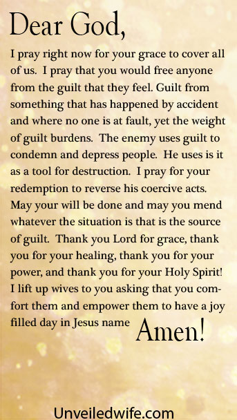Prayer Of The Day  Freedom From Guilt
